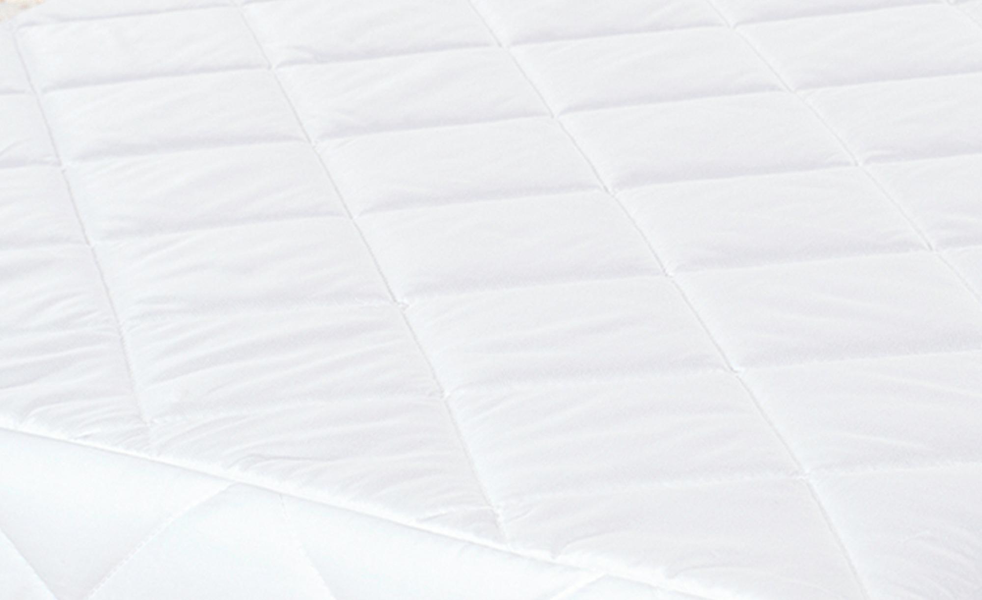 Alvi Kindermatratze - weiß - Unterseite: 100% Baumwolle gewebt , Oberseite: 100% Baumwolle versteppt - 70 cm - 10 cm - Sconto | Kinderzimmer > Textilien für Kinder > Kinderbettwäsche | Baumwolle | Alvi