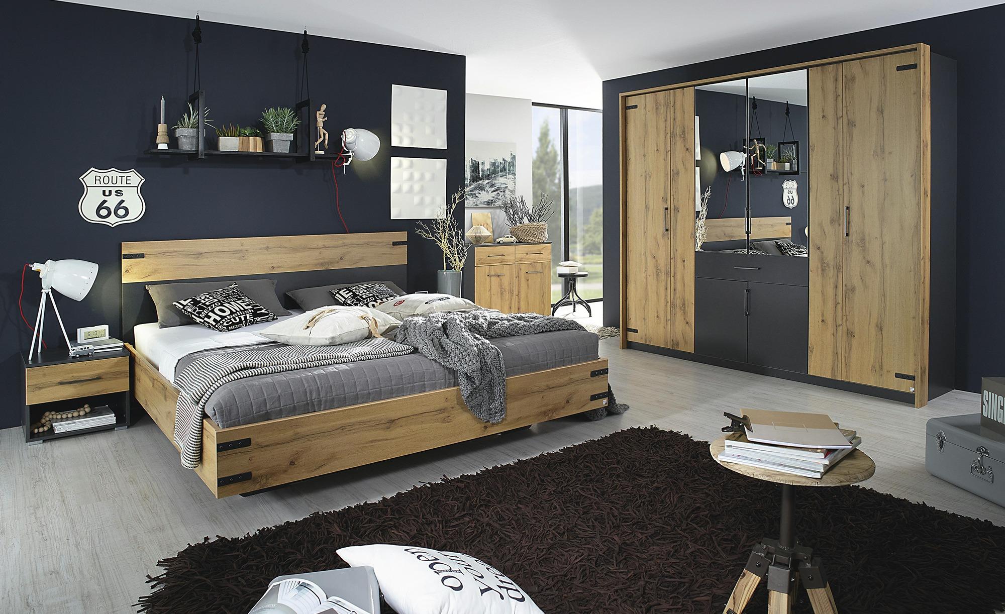 Komplett Schlafzimmer, 21 teilig Nevada, gefunden bei Sconto