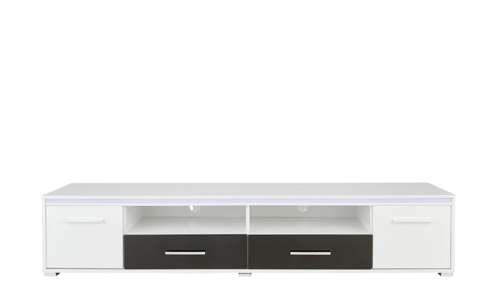 TV-Lowboard - weiß - 188 cm - 38 cm - 45 cm - Sconto | Wohnzimmer > TV-HiFi-Möbel > TV-Lowboards | Sconto