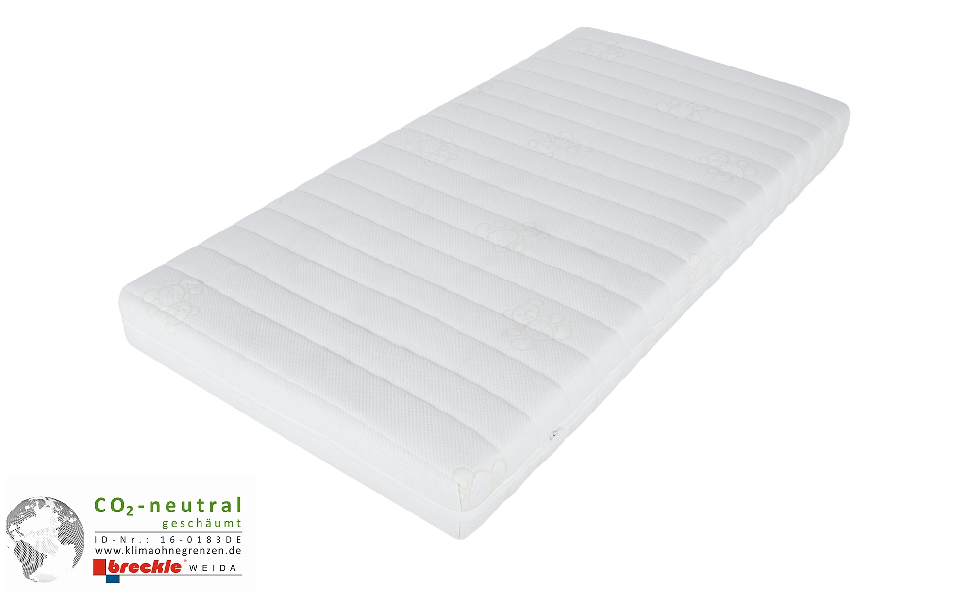 Kindermatratze  Polarstern - weiß - 70 cm - 12 cm - 140 cm - Sconto | Kinderzimmer > Textilien für Kinder > Kinderbettwäsche | Sconto