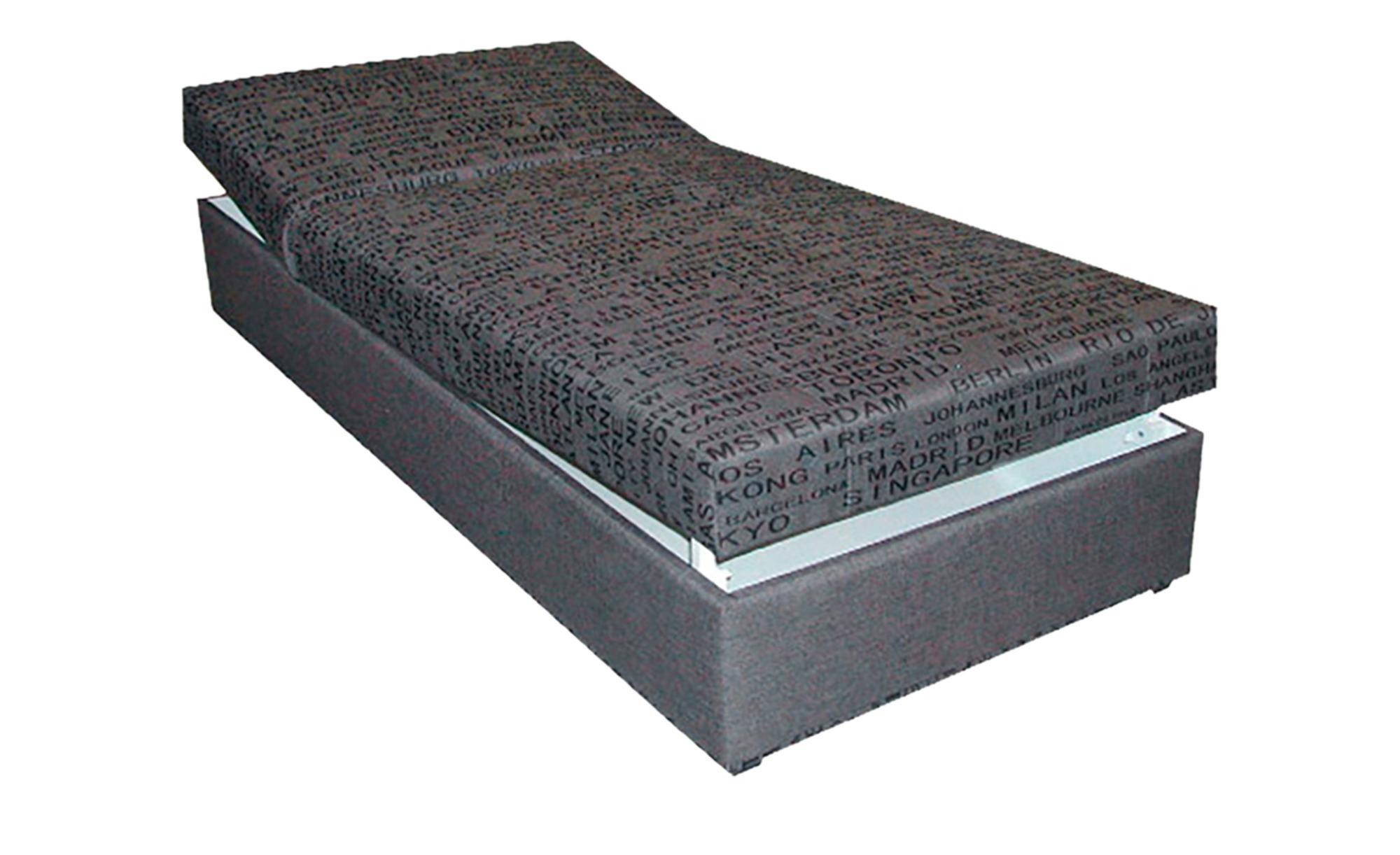 Polsterliege, Liegefläche ca. 90x200 cm  Stefi 2 - grau - 92 cm - 53 cm - 202 cm - Sconto   Schlafzimmer > Schlafsofas   Sconto