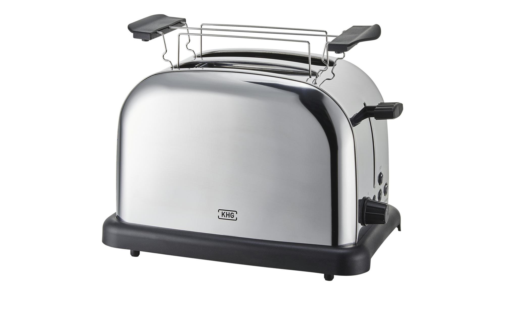 EMERIO TO-108275.1 Toaster Silber//Schwarz 800 Watt, Schlitze: 2