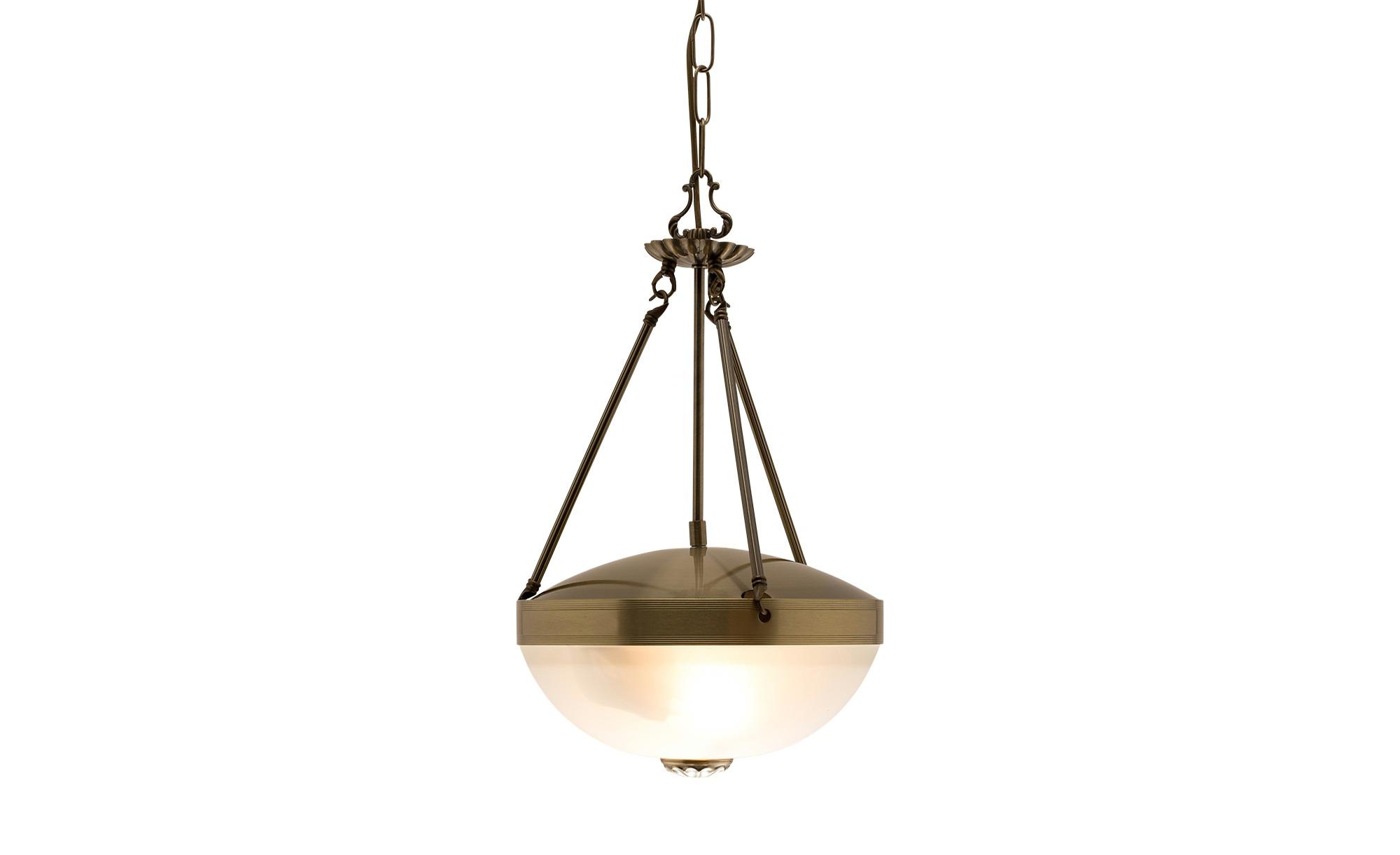 Pendelleuchte mit geschlossenem Lampenschirm von KHG