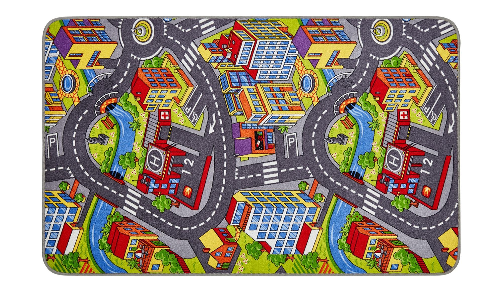 Straßenteppich für das Kinderzimmer