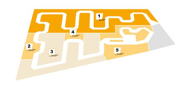 Sconto in Gründau - Etagenplan -Obergeschoss