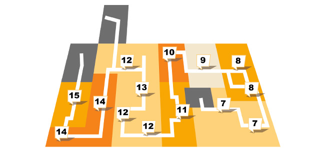 Sconto in Erfut - Etagenplan - Erdgeschoss